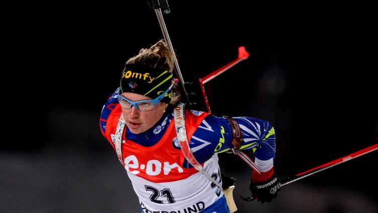 Excellent début de saison pour Marie Dorin-Habert (KONSTANTIN CHALABOV / RIA NOVOSTI)