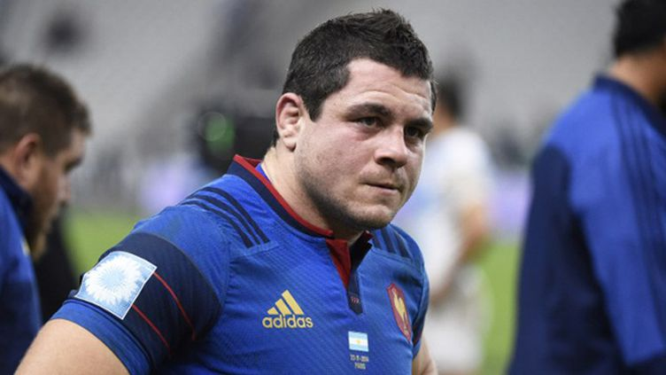 Guilhem Guirado sous le maillot de l'équipe de France (JEAN MARIE HERVIO / DPPI MEDIA)