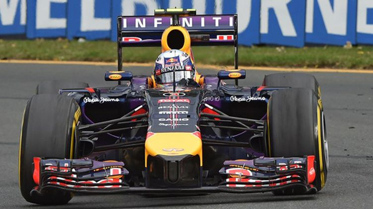 Ricciardo (Red Bull) à Melbourne (PAUL CROCK / AFP)