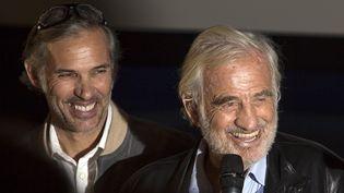 Belmondo père et fils à Lyon le 13 octobre 2015  (Jean-François Lixon)