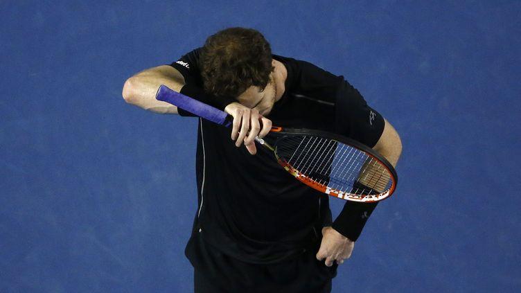 Andy Murray, lors de la finale de l'Open d'Australie 2016. (? JASON REED / REUTERS / X00458)