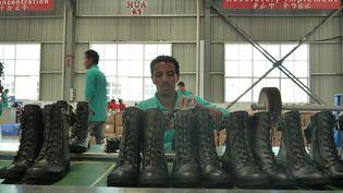 Une usine de chaussures chinoises en Ethiopie en 2012 (JENNY VAUGHAN / AFP)