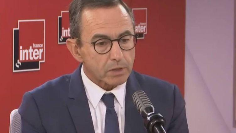 Bruno Retailleau, sur France Inter, le 16 juin 2020. (FRANCE INTER / RADIO FRANCE)