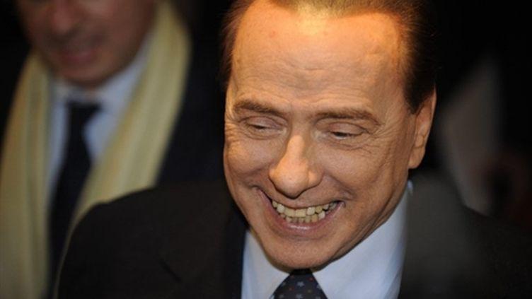 Silvio Berlusconi, président du Conseil italien, le 4 mars 2011. (AFP - Lehtikuva)
