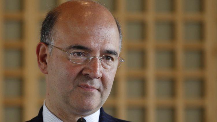 Le ministre de l'Economie et des Finances, Pierre Moscovici, le 13 juin 2012 à Paris. (GONZALO FUENTES / REUTERS)