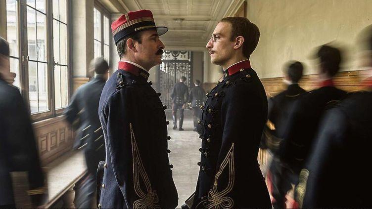 """Extrait du film de Roman Polanski sur l'Affaire Dreyfus, """"J'accuse"""", dans les salles le 13 novembre, avec Jean Dujardin et Louis Garrel. (GAUMONT)"""