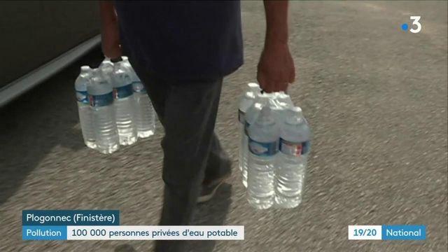 Pollution : 100 000 personnes privées d'eau potable
