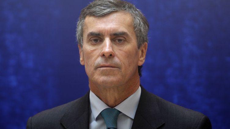 Jérôme Cahuzacà Paris, le 17 mai 2012. (CHARLES PLATIAU / REUTERS )