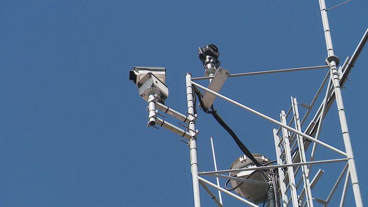 des caméras surveillent les forêts de la Sarthe pour prévenir les incendies (France 3 Pays-de-la-Loire)