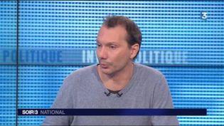 David Cormand, secrétairenational d'Europe Écologie-Les Verts (EELV). (FRANCE 3)