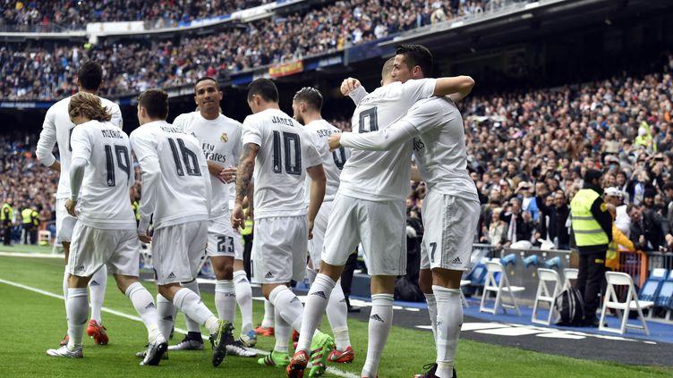 Le Real Madrid de Zidane fait le spectacle à Santiago Bernabeu (GERARD JULIEN / AFP)