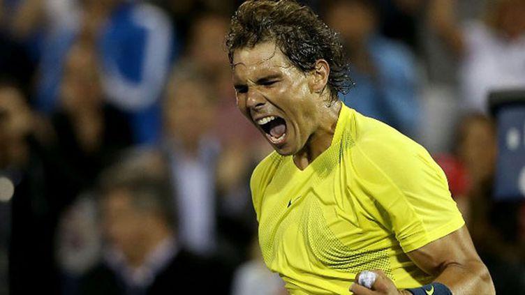 Le joueur espagnol Rafael Nadal