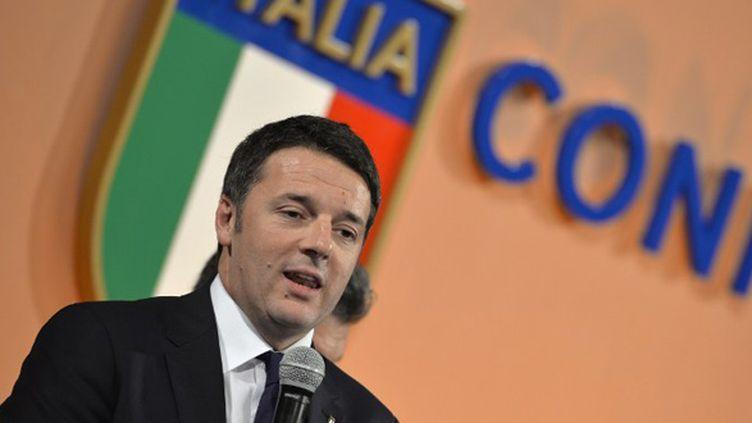 Matteo Renzi (Premier Ministre italien) (ANDREAS SOLARO / AFP)