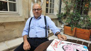 Le dessinateur Siné présente son nouveau livre, le 29 septembre 2009, à Lille (Nord). (MAXPPP)