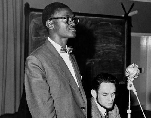Le dirigeant congolais Patrice Lumumba. On ignore quand et où cette photo a été prise. (AFP)