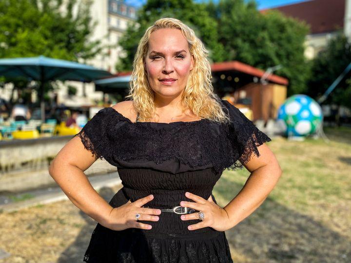 Angelika, le 6 juillet 2021 à Budapest. (MATHILDE GOUPIL / FRANCEINFO)