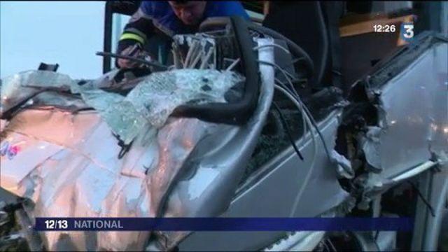 Accident sur l'A13 : 70 blessés dans un carambolage