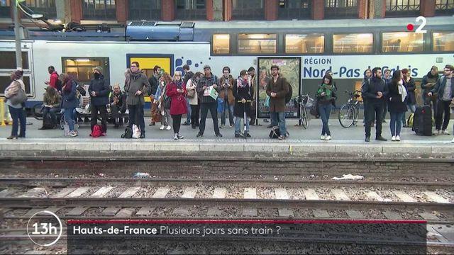 SNCF : un élu des Hauts-de-France annonce plusieurs jours sans trains