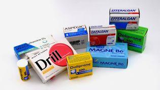 Le nombre de boîtes de médicaments remboursées par la Sécu a augmenté de 1,2% en 2013, selon l'Assurance maladie. (HOUIN / BSIP / AFP)