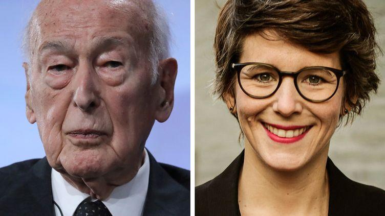 Une journaliste allemande Ann-Kathrin Stracke accuse l'ancien président Valéry Giscard d'Estaing de l'avoir sexuellement agressée en 2018. (JACQUES DEMARTHON / WDR)