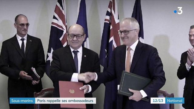 Crise des sous-marins : les ambassadeurs de France aux États-Unis et en Australie sont rappelés par Paris