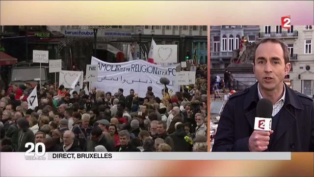 Bruxelles : une marche contre la terreur et la haine ce dimanche