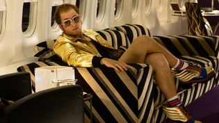 L'acteur Taron Egerton incarne Elton John dans le biopic Rocketman. (PHOTO CREDIT: DAVID APPLEBY)