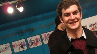 Eugène Riousse, lauréat du concours international Jeunes Talents Festival d'Angoulême 2013