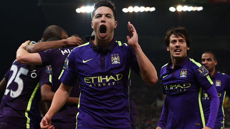 Le milieu de terrain de Manchester City, Samir Nasri