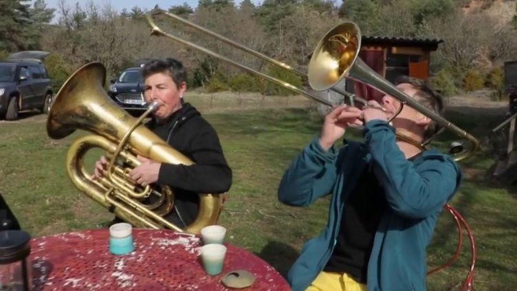 Histoire : la lutte sur le plateau du Larzac fête ses 50 ans (CAPTURE D'ÉCRAN FRANCE 3)