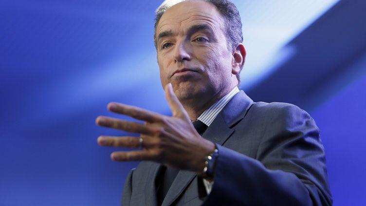 Le secrétaire général de l'UMP, Jean-François Copé, le 19 septembre 2012 à Paris. (KENZO TRIBOUILLARD / AFP)