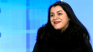 """Marjane Satrapi présente """"The Voices"""" sur le plateau de France 3 Rennes  (France 3 / Culturebox)"""