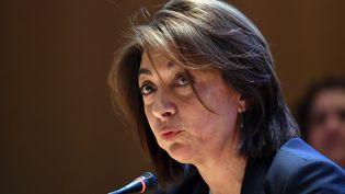 Martine Vassal,présidente LR du département des Bouches-du-Rhône, à Marseille, le 2 avril 2015 (photo d'illustration). (BORIS HORVAT / AFP)