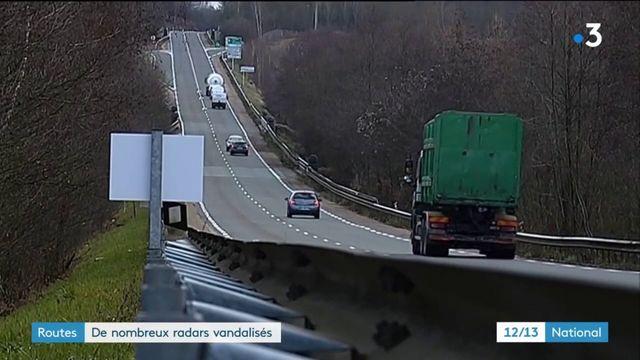Routes : de nombreux radars vandalisés