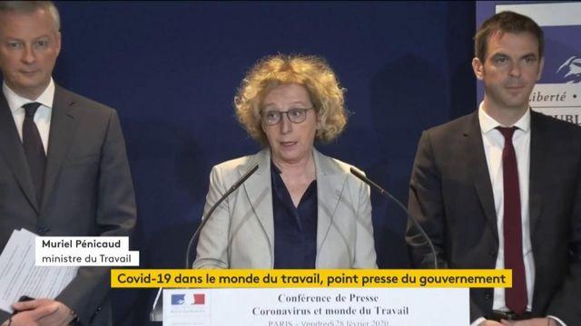 VIDEO. Covid-19 : Muriel Pénicaud fait le point sur la situation dans les entreprises