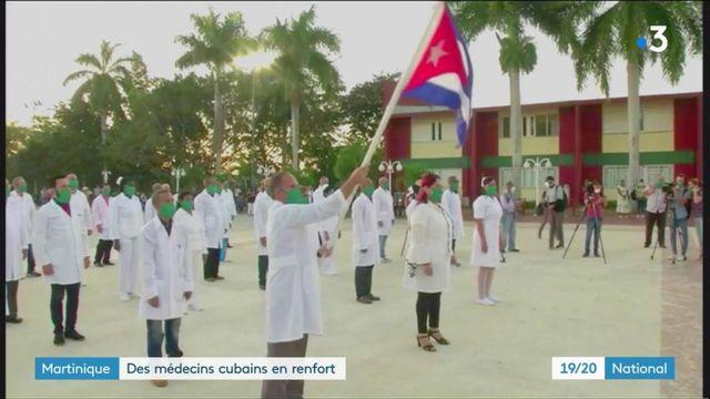 Coronavirus : des médecins cubains appelés en renfort en Martinique
