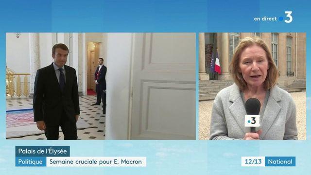 Politique : Emmanuel Macron révise sa copie avant sa conférence de presse