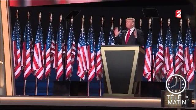 Présidentielle américaine : Donald Trump dans le costume du candidat
