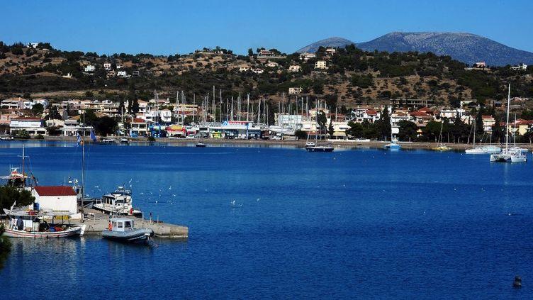 Une vue de Porto Heli, le 8 décembre 2011 (VASSILIS PSOMAS / AFP)