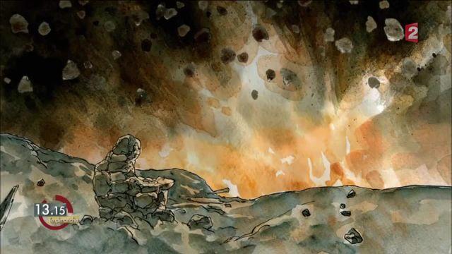 13h15 le dimanche. Vauquois : le première mine géante explose le 3 mars 1916
