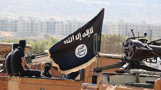 Une image de propagande montrant des combattants du groupe Etat islamique à Raqqa, en Syrie, le 19 novembre 2015. (MAXPPP)