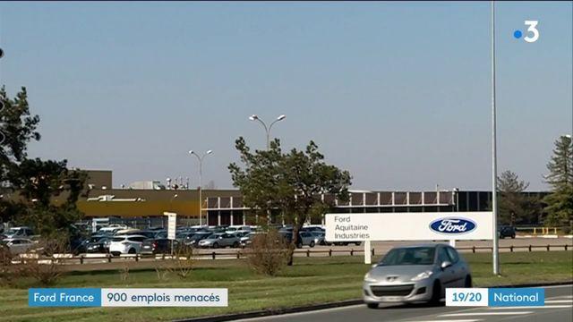 Ford France : 900 emplois menacés