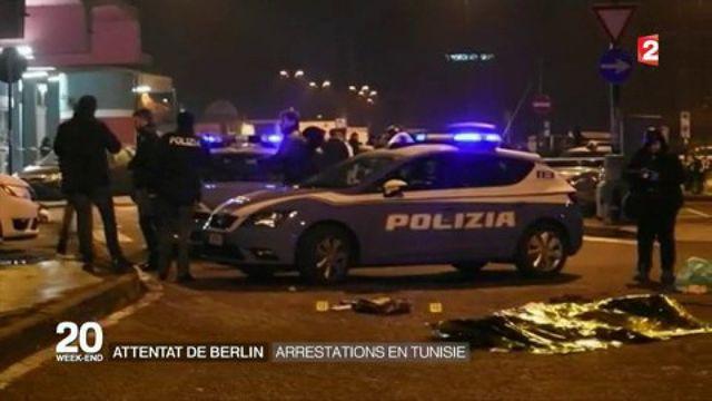 Attentat de Berlin : arrestations en Tunisie