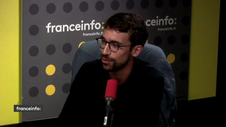 Jérémie Peltier, directeur des études à la Fondation Jean Jaurès, invité des informés de franceinfo le lundi 20 août. (RADIO FRANCE)