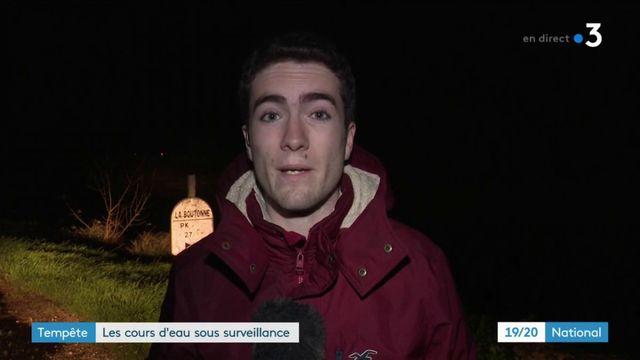 Tempête Amélie : les cours d'eau de Charente-Maritime sous surveillance