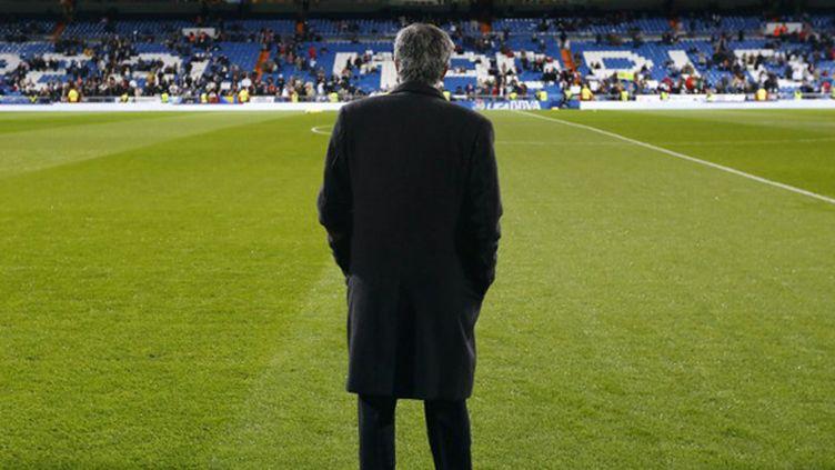 José Mourinho, l'entraîneur du Real Madrid (CESAR MANSO / AFP)