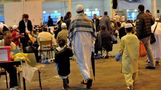 La fête de l'Aïd-el-Kébir, au parc Chanot, à Marseille, le 26 octobre 2012. (MAXPPP)