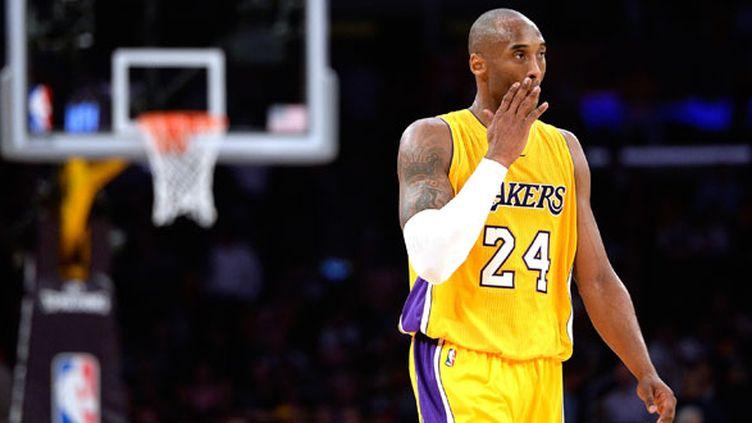 Le joueur des Lakers, Kobe Bryant