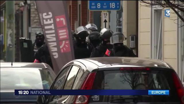 Bruxelles : opération antiterroriste après les attentats de Paris