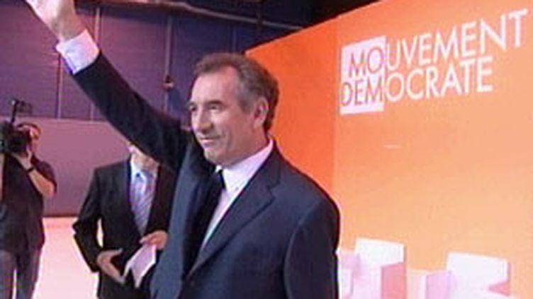 François Bayrou à Arras, 6 décembre 2009